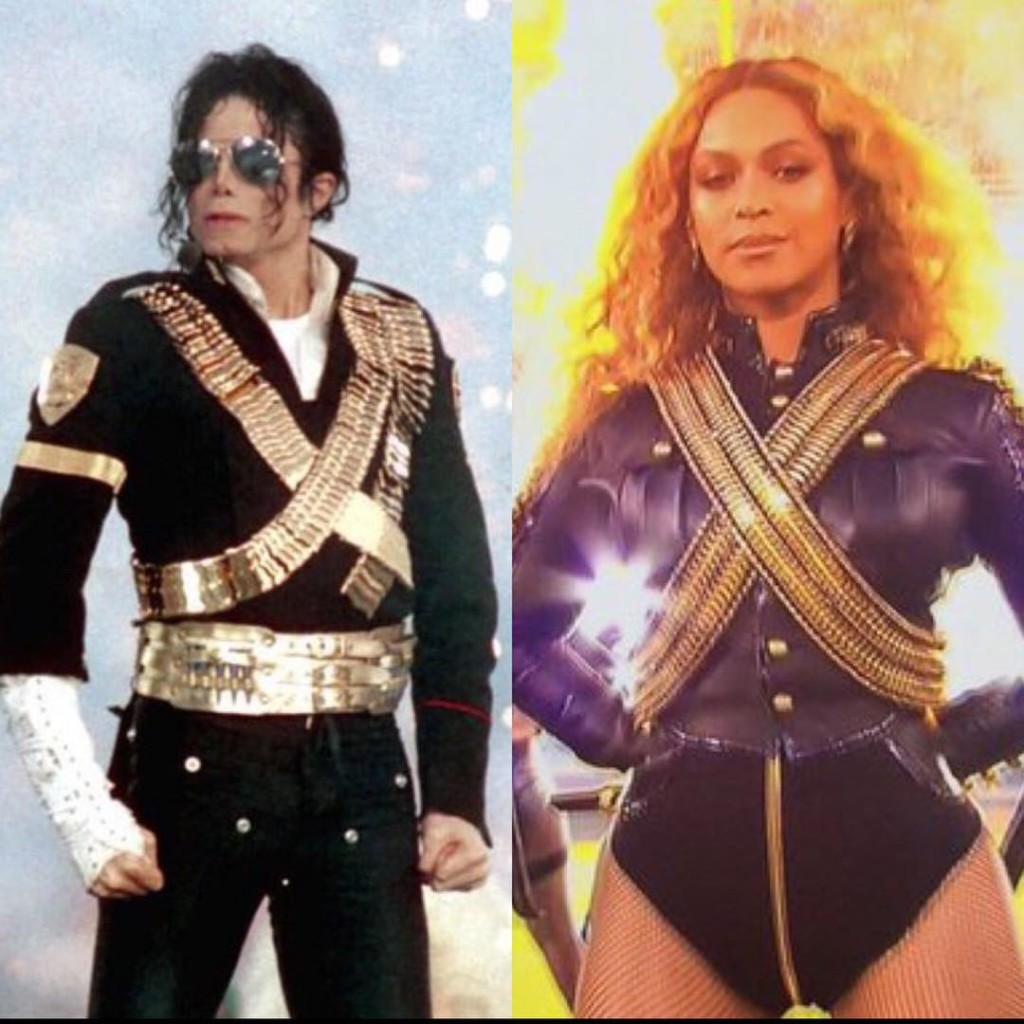 beyonce tribute to michealjackson formation halftimeshow