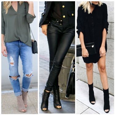 29 Killer Open Toe Booties Outfit Ideas To Decide How And