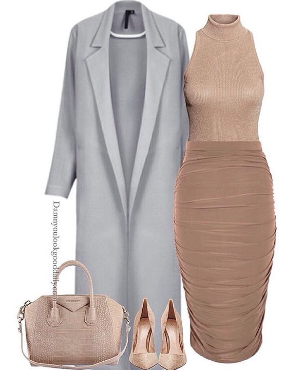 47 work outfits for women business and casual be stylish for Wedding guest dresses for cold weather
