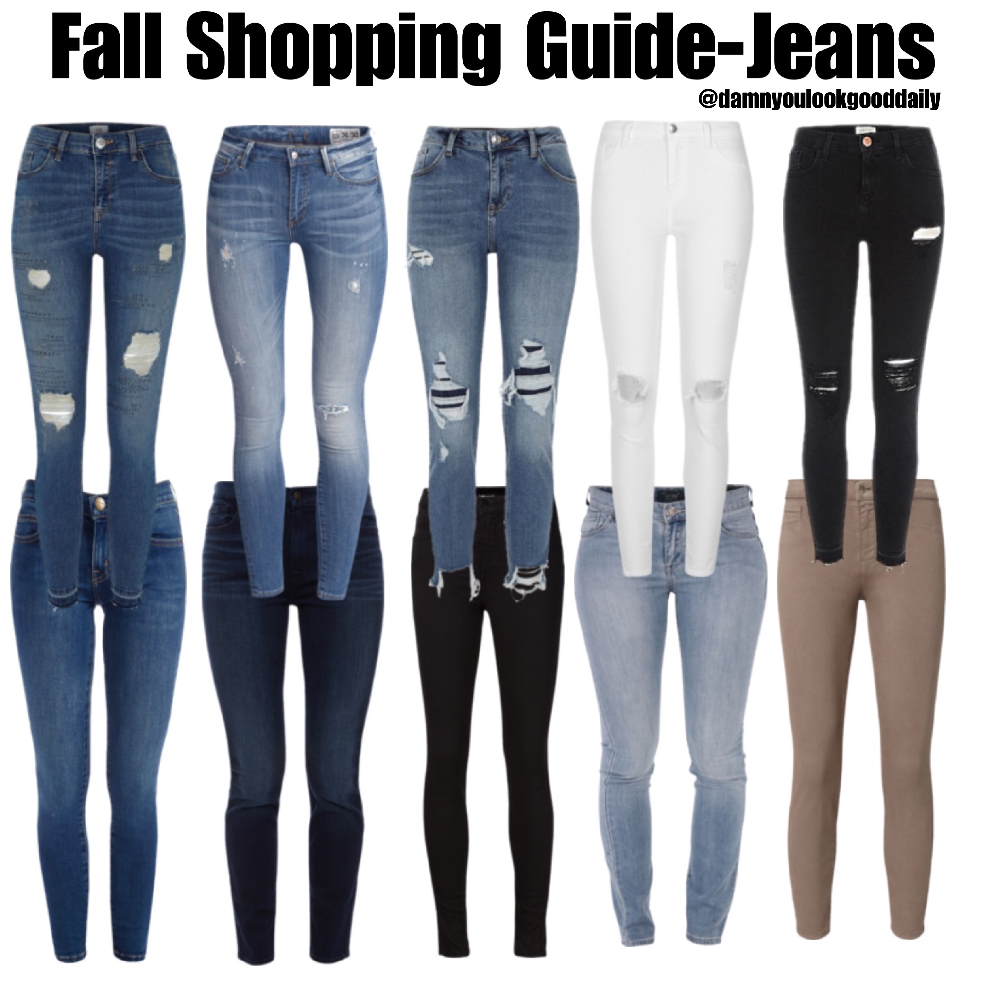 6 Fall Outfits for School to COPY ASAP - Damn You Look Good Daily