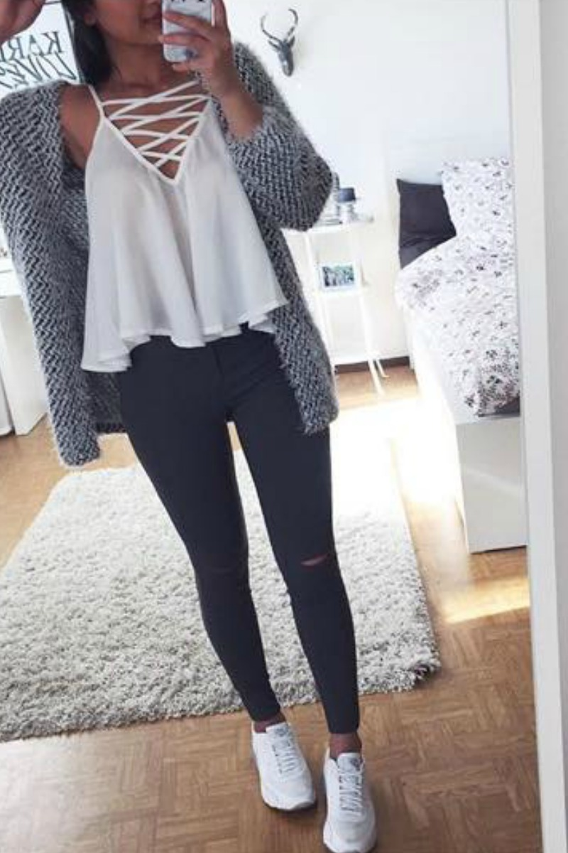 65 Cute Fall Outfits For School You Need To Wear Now Damn You
